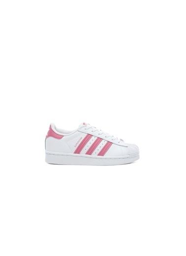 adidas Unisex Çocuk Superstar Sneakers FW0771.BEYAZ Beyaz